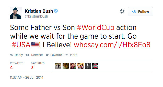 K  Bush