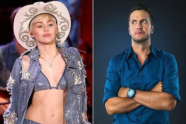 Luke Bryan, Miley Cyrus