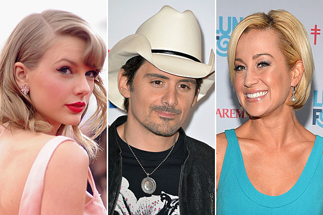 Taylor Swift, Brad Paisley, Kellie Pickler