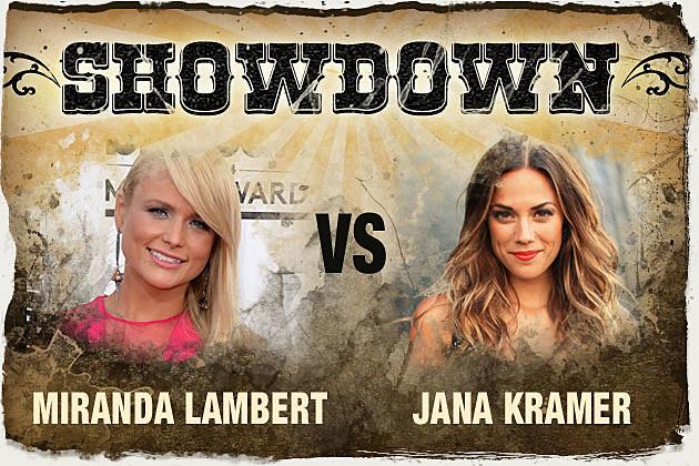 Miranda Lambert vs. Jana Kramer