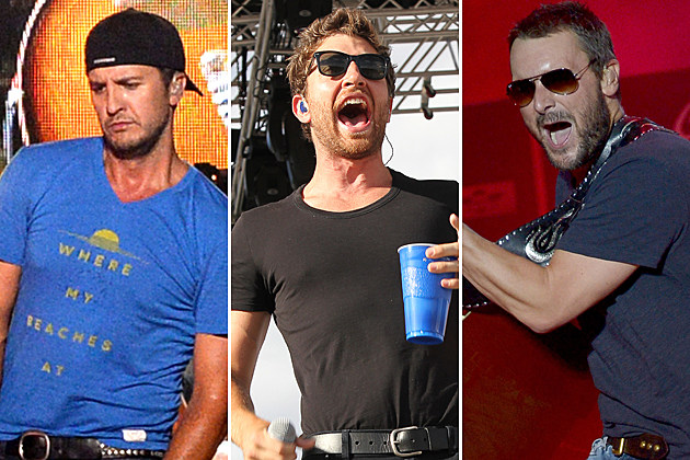 Luke Bryan, Brett Eldredge, Eric Church