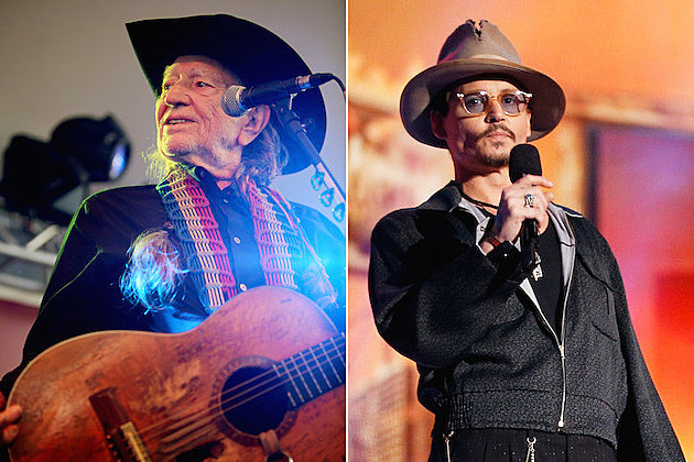 Willie Nelson, Johnny Depp