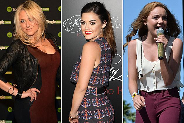 Leah Turner, Lucy Hale, Danielle Bradbery