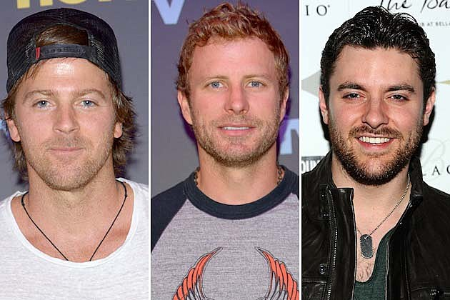 Kip Moore, Chris Young, Dierks Bentley