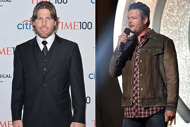 Mike Fisher, Blake Shelton