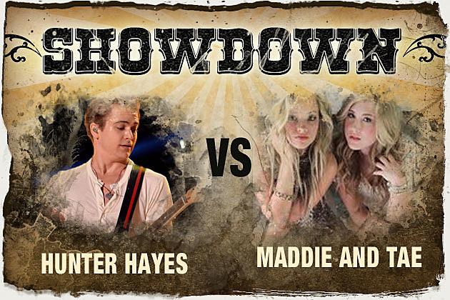 Hunter Hayes, Maddie and Tae