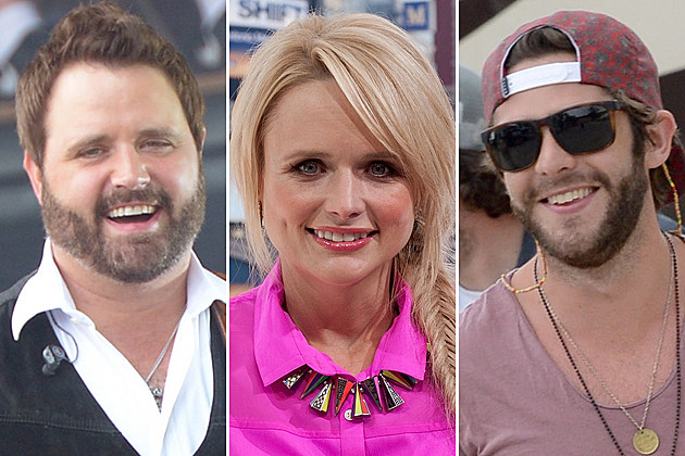 Randy Houser, Miranda Lambert, Thomas Rhett