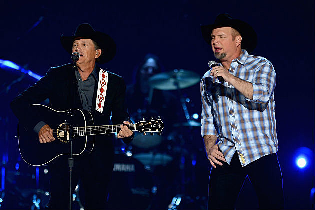 George Strait Garth Brooks