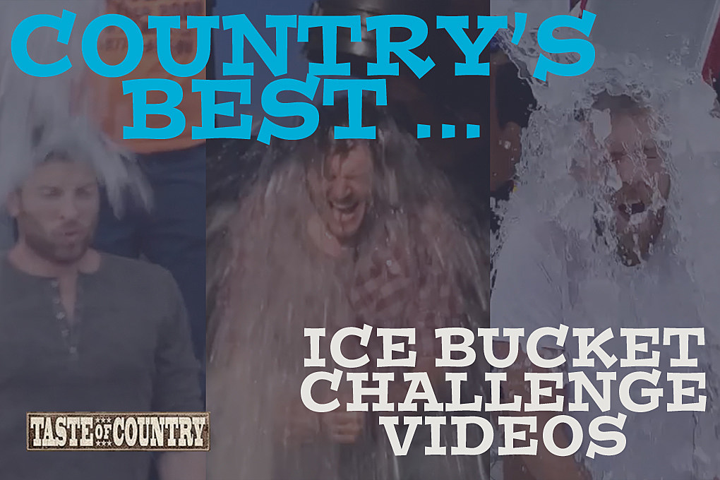 Watch the Best of Country Stars Taking the ALS Ice Bucket Challenge!