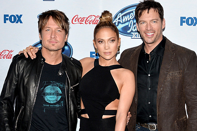 Keith Urban Jennifer Lopez Harry Connick Jr.