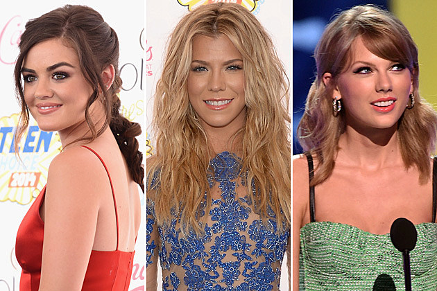 Lucy Hale, Kimberly Perry, Taylor Swift