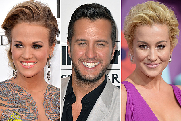 Carrie Underwood, Luke Bryan, Kellie Pickler