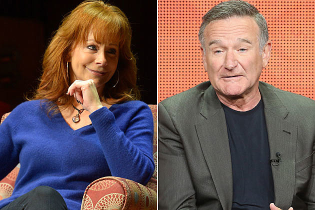 Reba McEntire, Robin Williams