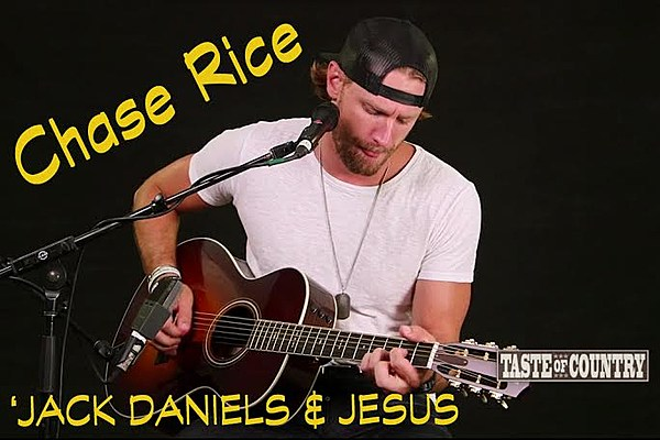 Chase Rice Strips Down For Jack Daniels And Jesus