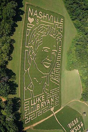 Luke Bryan Corn Maze