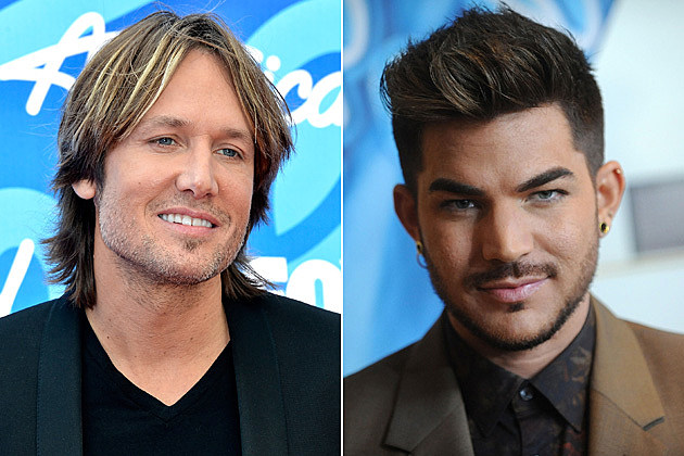 Adam Lambert Fills in for Keith Urban at 'American Idol' Auditions in NYC