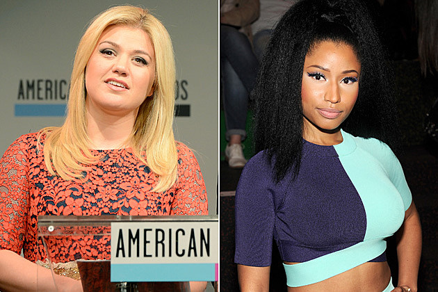 Kelly Clarkson, Nicki Minaj