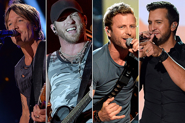 Keith Urban, Brantley Gilbert, Dierks Bentley, Luke Bryan
