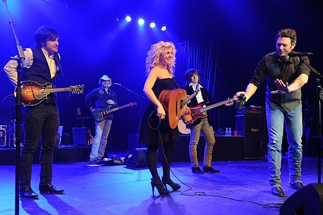 The Band Perry Blake Shelton