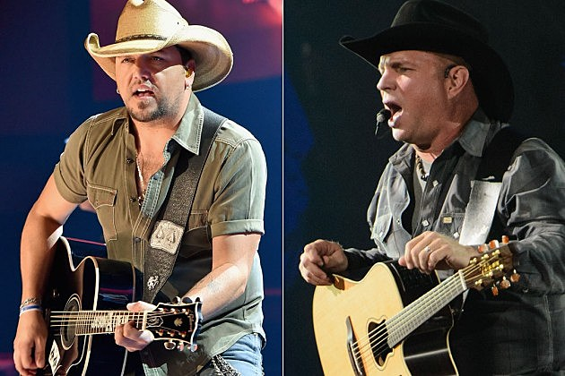 Jason Aldean, Garth Brooks