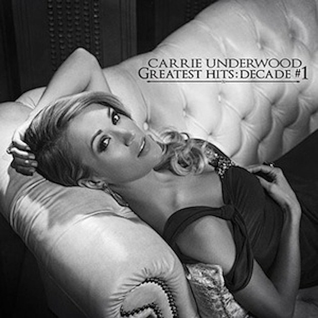 Carrie Underwood Greatest Hits album cover