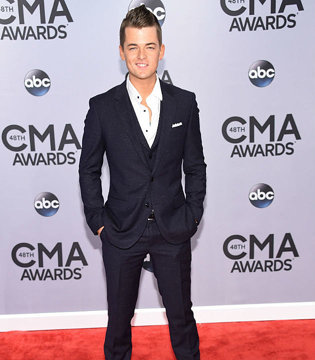 Chase Bryant at the 2014 CMA Awards