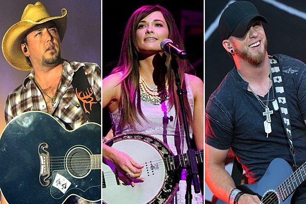Jason Aldean Kacey Musgraves Brantley Gilbert