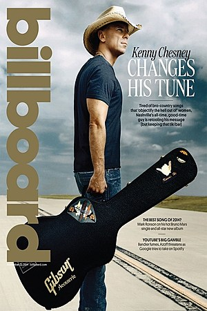 Kenny Chesney Billboard Cover