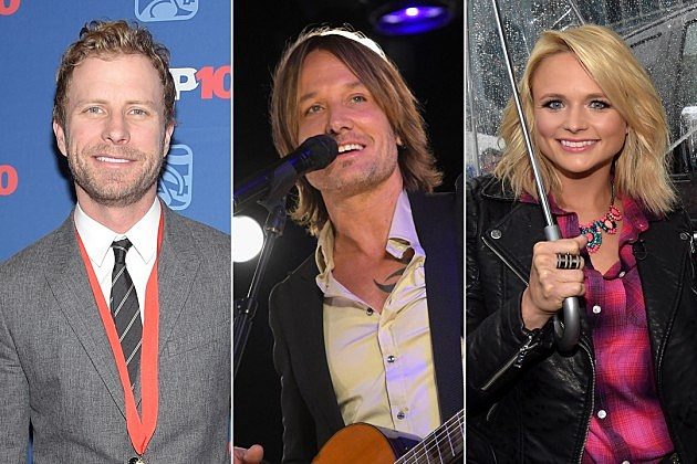 Dierks Bentley Keith Urban Miranda Lambert