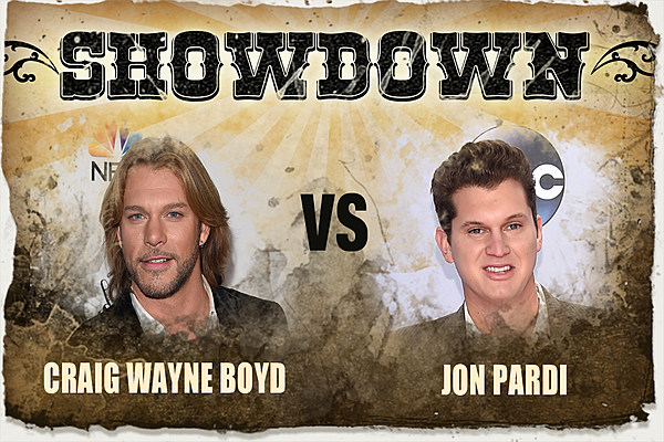 Craig wayne boyd vs jon pardi the showdown