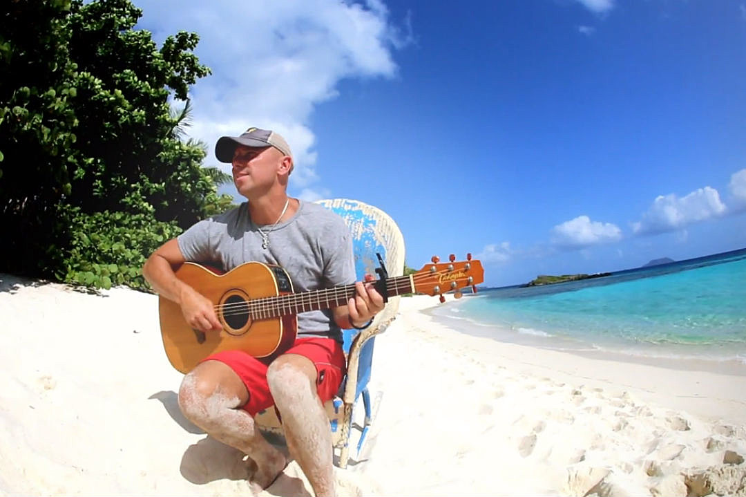 Greetings From Kenny Chesney, \'Christmas in Blue Chair Bay\'