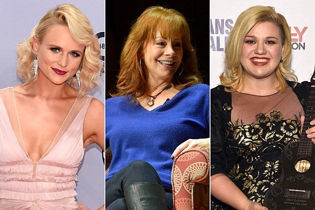 Miranda Lambert Reba McEntire Kelly Clarkson