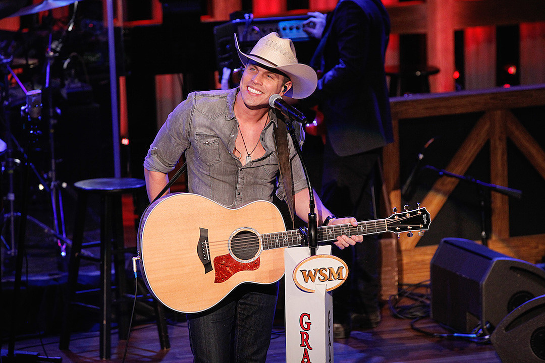 Dustin Lynch Celebrates One Year as an Opry Member: 'It's the Top of the Mountain'