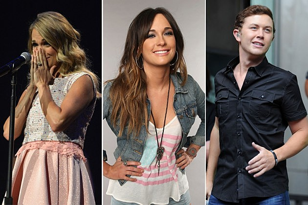 Carrie Underwood Kacey Musgraves Scotty McCreery