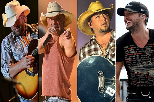 Toby Keith Kenny Chesney Jason Aldean Luke Bryan