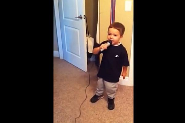 Cute Kid Covers Jason Aldean S Big Green Tractor