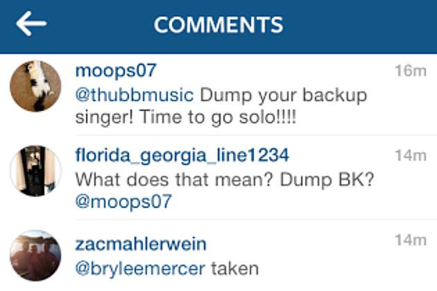 Florida Georgia Line Instagram Hater