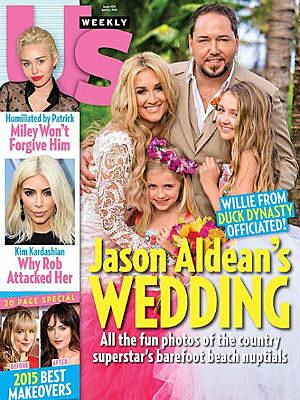 Jason Aldean Wedding US Weekly