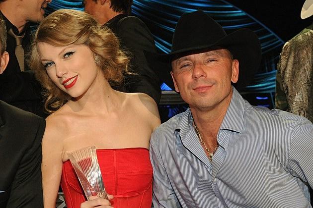 Taylor Swift, Kenny Chesney