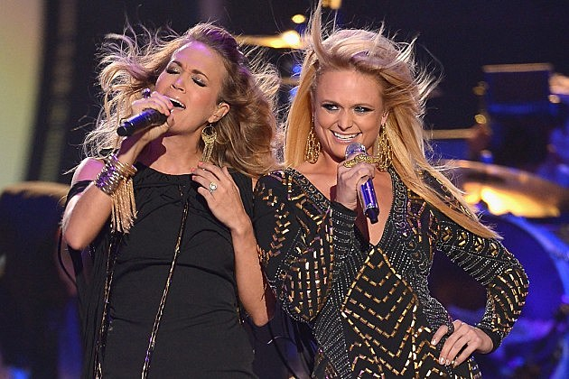 2015 cmt music awards winners for Carrie underwood and miranda lambert friends