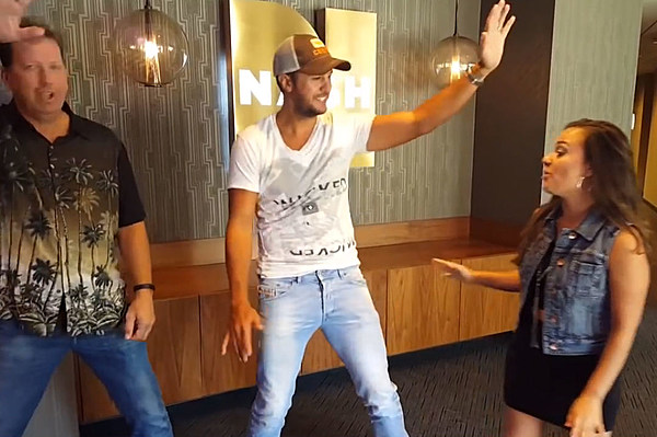 Luke Bryan Attempts the 'Whip' and 'Nae Nae' Dance Moves [Watch]
