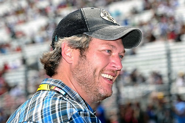 Blake Shelton NASCAR