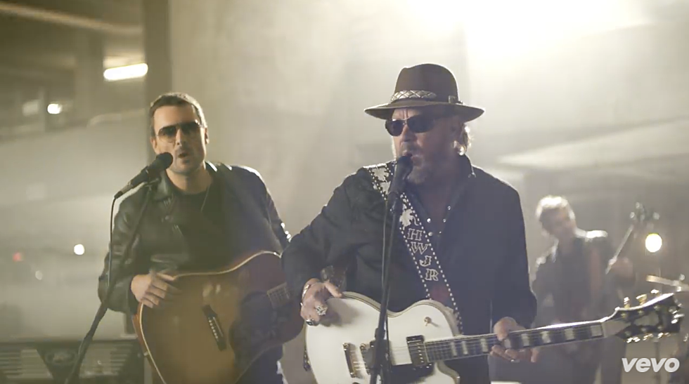 Lyric are you ready for some football lyrics : Hank Williams Jr. and Eric Church Rock It Out