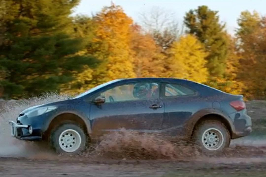 Kia Introducing Forte Koup Mud Bogger