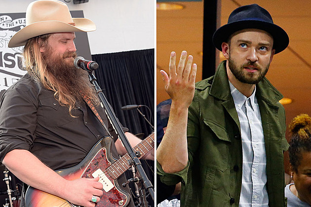 Chris Stapleton And Justin Timberlake To Collaborate At Cmas