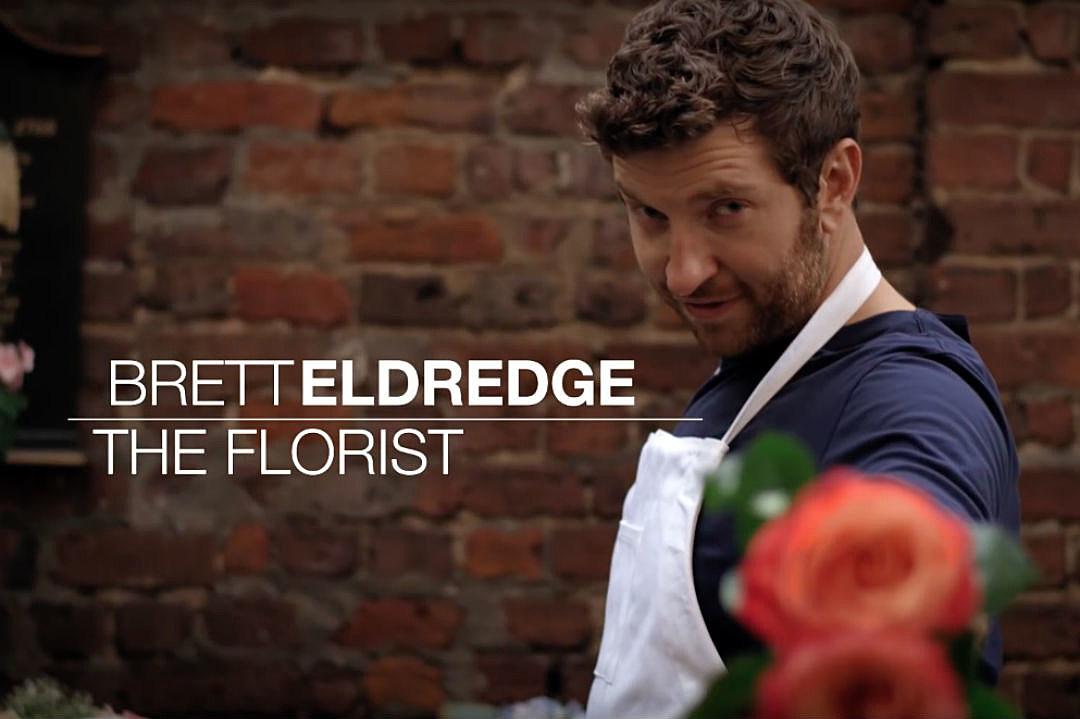 Brett Eldredge Florist Drunk on Your Love