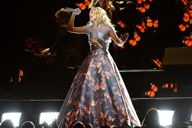Carrie Underwood Grammy Dress