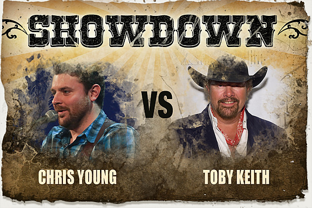 Chris Young Toby Keith Showdown