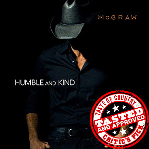 Tim McGraw Humble and Kind Cover Art
