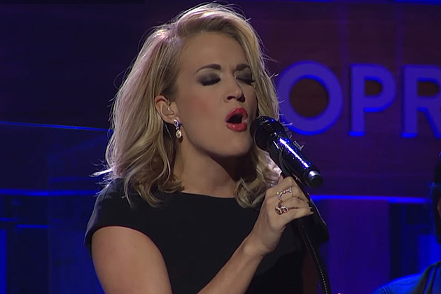 carrie underwood opry at the ryman, carrie underwood grand ole opry, carrie underwood heartbeat live